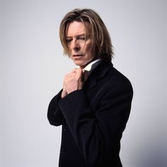 "stolen-guitar: "" Casual reminder that Hours-era Bowie was an absolute babe """