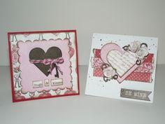 Valentines Day Mini Cards - Scrapbook.com
