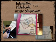 Interactive Notebooks in the Music Room #elmused
