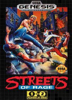 Streets of Rage - Megadrive - Sega AM7 - 1991