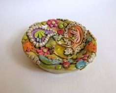 Paisley Ring Dish Boho Paisley Trinket Dish Jewelry Holder