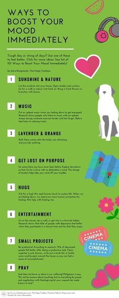 Ways to Boost Your Mood Immediately