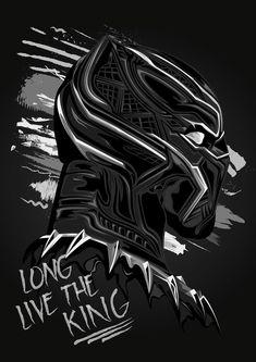 The Black Panther. Black Panther Marvel, Black Panther Pics, Black Panther Drawing, Black Panther Tattoo, Panther Pictures, Marvel Dc, Marvel Heroes, Black Phone Wallpaper, Marvel Wallpaper