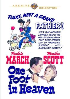 One Foot in Heaven - DVD-R (Warner Archive On Demand Region 1) Release Date: March 3, 2015 (Screen Archives Entertainment U.S.)