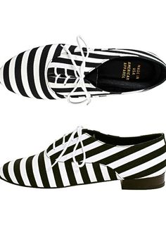 287ca5488dff American apparel bobby stripe lace-up shoes