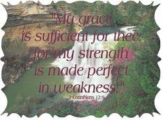 God's grace...