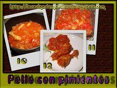 La cocina de Maetiare: Pollo con pimientos