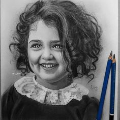 Amazing Art Illustrations | Cute Girl Realistic Sketch, Realistic Pencil Drawings, Pencil Art Drawings, Pencil Sketching, Realistic Eye, Tattoo Drawings, Human Figure Sketches, Girl Drawing Sketches, Art Drawings Sketches Simple