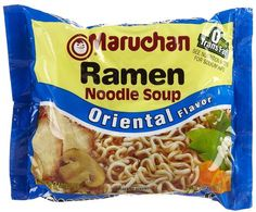 I just looooove the flavor of the Oriental flavor ramen, but don't want the MSG or high salt. Here is a copycat that tastes just like it, without the sodium. Oriental Ramen, Oriental Noodles, Ramen Seasoning Recipe, Seasoning Mixes, Ramen Noodle Soup, Ramen Noodle Recipes, Ramen Salad, Maruchan Ramen Noodles, Homemade Ramen