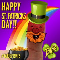 To a lucky day with a pot of #Takis, er ... gold at the end of the rainbow!!