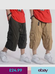 Mens casual fashion 2013 casual fashion mens cargo shorts plus shorts ebay clothes shoes accessories malvernweather Image collections