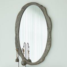 Sherwood Mirror Metal Mirror, Diy Mirror, Beveled Mirror, Wall Mirror, Wood And Metal, Metal Walls, How To Clean Mirrors, Unique Mirrors, Mirror Panels