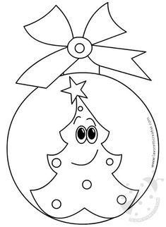 Christmas Rock, Felt Christmas Ornaments, Christmas Crafts For Kids, Christmas Colors, Simple Christmas, Holiday Crafts, Christmas Decorations, Merry Christmas Coloring Pages, Christmas Coloring Sheets