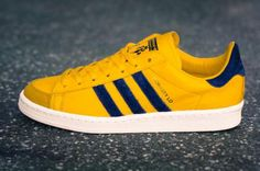 MARK MCNAIRY × ADIDAS ORIGINALS BY 84-LAB. HOOK SHOT 84 RAY YELLOW/COLLEGE NAVY #sneaker