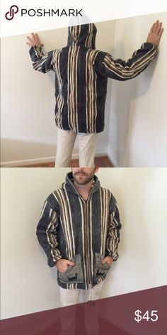 Baja style man's jacket Alpaca Baja jacket never used Jackets & Coats Utility Jackets