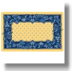 Yellow And Blue Kitchen Accessories Mats 2017