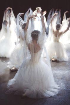 "yoiness: ""The Willis"" Giselle Het National Ballet Photo by Sasha Gouliaev Ballet Art, Ballet Dancers, Ballerinas, Princesa Tutu, Yoga Pilates, Ballet Photography, Ballet Beautiful, Ballet Costumes, Pointe Shoes"