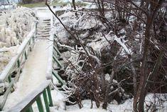 Valaste joal Valaste juga talvel