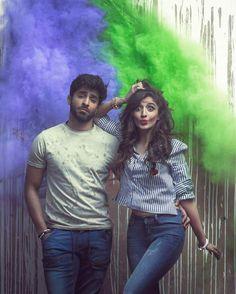 Sheheryar Munawar and Mawra Hocane Latest Clicks for 'Beoneshopone'