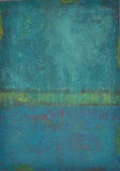 abstrakte Acrylmalerei, Unikat, Original,100x70 cm von Kunst & Design Werkstatt auf DaWanda.com