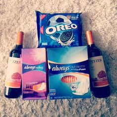 Period survival kit Period Kit, Rc Cola, Survival Kit, Oreo, Beverages, Gifts, Products, Presents, Survival Kits