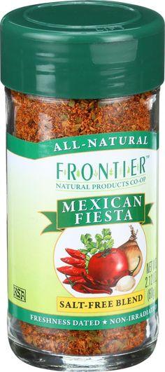 Frontier Herb International Seasoning - Mexican Fiesta - 2.12 oz