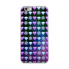 Snowflake Purple Heart & Blue Diamond Emoji Collage In Space Teen Cute XMAS Christmas Girly Girls iPhone 4 4s 5 5s 5C 6 6s 6 Plus 6s Plus 7 & 7 Plus Case - JAKKOUTTHEBXX - Snowflake Purple Heart & Blue Diamond Emoji Collage In Space Teen Cute XMAS Christmas Girly Girls iPhone 4 4s 5 5s 5C 6 6s 6 Plus 6s Plus 7 & 7 Plus Case - JAKKOU††HEBXX - JAKKOUTTHEBXX