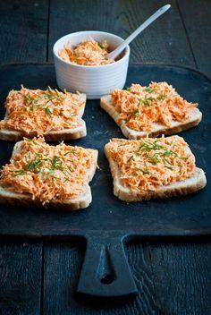 Sweet Pixel: Mažu, mažeš, mažeme... Low Carb Recipes, Vegetarian Recipes, Cooking Recipes, Healthy Recipes, Healthy Cooking, Healthy Snacks, Czech Recipes, Good Food, Yummy Food