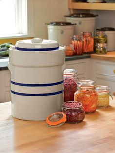 3-Gallon Fermentation Crock Complete Kit | Fermenting Crock