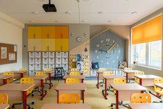 Innovationsklasse an einer Moskauer Schule - Детский сад - Kindergarten Interior, Kindergarten Design, Classroom Architecture, School Architecture, School Building Design, School Design, Classroom Design, Classroom Decor, Just Kids