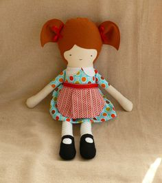 Craft idea: handmade dolls or maybe teddy bears?