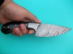 Hand Made Damascus Skinning Knife  http://agknivesstore.tictail.com/
