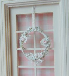 Dollhouse Shabby Chic Distressed White by Memoriesnminiature, $16.99