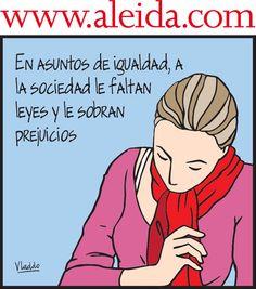Aleida. Liberal Politics, Humor Grafico, Power Girl, Spanish Language, Spanish Quotes, Social Justice, Equality, Something To Do, Peace