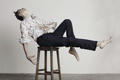 Uncovering the wonderful take on Christian Lacroix AW14 menswear by photographer Brendan Freeman and Anders Hayward - Dancer/Model  Many thanks to : Rose Forde : Styling Holly Silius : Make-up Yoshitaka Miyazaki : Hair  www.brendanfreeman.com