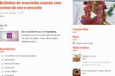 Receita da chef Izabela Braga no site programa Você Bonita, TV Gazeta, baseada na Dieta Paleolítica. #belanatv #dicasdabela #receitasdabela #bemnutrir #cozinhanutritiva #comidadeverdade #saudavelsemneura | Chef Izabela Braga - Insta:@chefizabelabraga