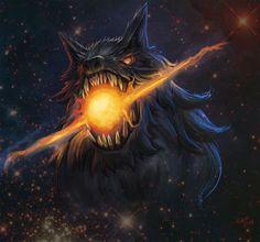 The Sons Of Fenrir Hatiandskol Viking Odin Wolf Wolves