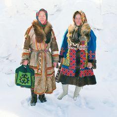 Khanty women, Tanya and Galya.- Siberia(?), Russia http://www.flickr.com/photos/alnka/4505668079/