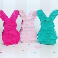 Mini Bunny Piñata by JazzysCreation on Etsy https://www.etsy.com/listing/268918986/mini-bunny-pinata