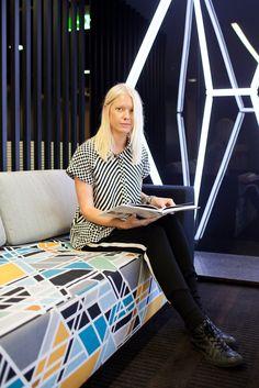 Chloe Gray, Cue Design Team
