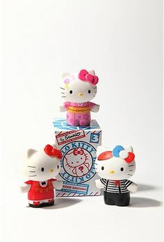 Found these blind box world Hello Kitty figures for only $1.99 each. Bought 3...need more.