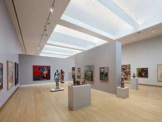 Museu de Arte na Califórnia por Gwathmey Siegel & Arquitetos Associados