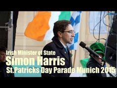 Irish Minister of State Simon Harris @ St. Patrick's Day Parade Munich 2015