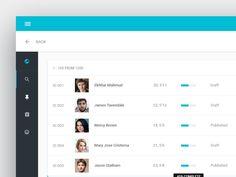 Matchmaker web app design designed by Ekhtiar Mahmud. Connect with them on Dribbble; Dashboard Ui, Material Design, User Interface, Ui Design, App, Digital, Apps, Interface Design