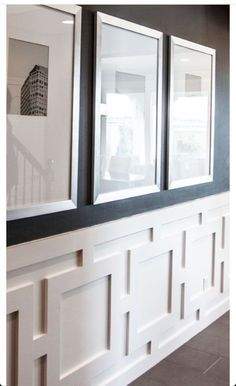 Game Room Wall Molding Ideas To Wow Your Home With Chair Rail Molding - Splendid Habitat . Chair Rail Molding, Wall Molding, Molding Ideas, Moulding, Crown Molding, Home Renovation, Home Remodeling, Wall Design, House Design