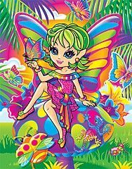 lisa frank fairy coloring pages - photo#48