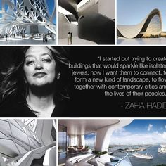 A true pioneer who changed the way we look at architecture. #ZahaHadid - http://ift.tt/1HQJd81