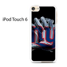 New York Giants Football Gloves Ipod Touch 6 Case