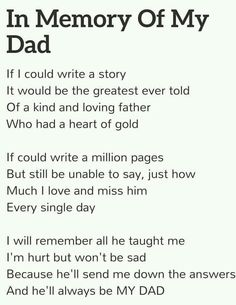 Loss Of A Father Dear Dad Miss You Dad Miss My Dad Miss