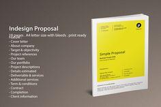 Indesign Proposal by Dedijuniadi on Creative Market